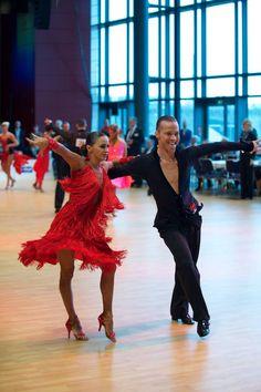 Andrey Zaytsev and Anna Kuzminskaya - World Latin Dresden November 2015