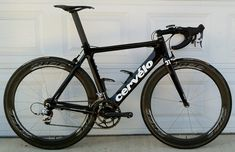 Cervelo S2, most decals removed.