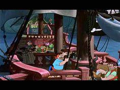 Peter Pan song from disney: a pirate's life for me / je bent verwent als je zeerover bent (dutch) Peter Pan Songs, Learning Spanish, Fun Learning, Pirate Life, Titanic, School, Disney, Youtube, Kids