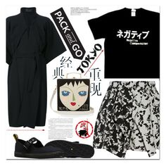 """""""Pack And Go Tokyo"""" by es-vee ❤ liked on Polyvore featuring A.H.O Laborator, TIBI, Iris van Herpen, Olympia Le-Tan, tokyo and Packandgo"""