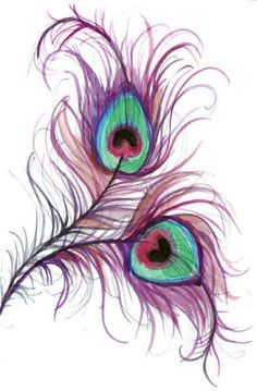 peacock feather emerging tattoo - Google Search