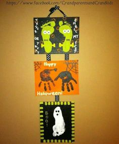 Halloween crafts for kids :-)