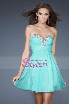 d4464dd4b2c 2014 Homecoming Dresses Sweetheart A-Line Short Mini Chiffon With Beads And  Ruffles Cheap