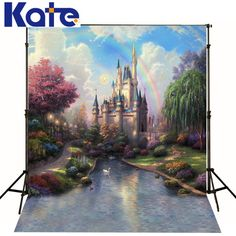 Find More Background Information about photography backdrop baby 6.5x10ft(200x300cm) Castle Creek Cartoon background for studio,High Quality backdrop,China background radio Suppliers, Cheap backdrop muslin from Art photography Background on Aliexpress.com