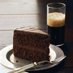 Guinness and chocolate cake!