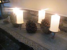 Yksinkertaisen kaunis kynttiläsomiste, Kvartetti ja ripaus metsää.