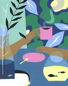 Patternbank are loving the beautiful stylish illustrations of Ayumi Takahashi. Born in China, raised in Japan, Ayumi graduated from Art Center College of D