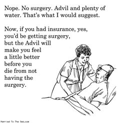 This is what our healthcare system is heading towards (or already is for many)