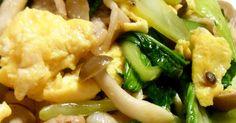 *青梗菜と豚ときのこの卵炒め* by ジュエリーママ 【クックパッド】 簡単おいしいみんなのレシピが277万品