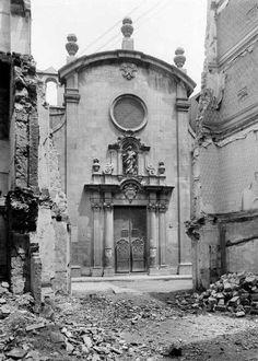 ESGLÉSIA DE SANTA MARTA. Riera de Sant Joan. (1735-1911)