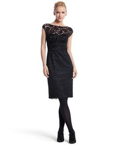 I love the detail on this dress from White House Black Market!