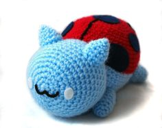 Bravest Warriors Catbug Kitten Amigurumi Plush via Etsy. gotta figure out how to make this!