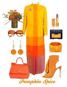 """Pumpkin Spice"" by laineys on Polyvore featuring Dolce&Gabbana, NOVICA, Mark Davis, Irene Neuwirth, NARS Cosmetics, Tory Burch and NDI"