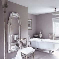 1000 images about bathroom ideas on pinterest purple for Purple and grey bathroom ideas