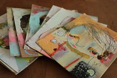 mail art by timssally, via Flickr