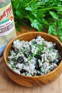 Buckwheat Pesto Salad @bobsredmill