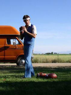 """Jon Gries as Rico Dynamite (Napoleon Dynamite) """"How much you wanna bet I can throw a football over those mountains?"""""""