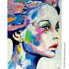 Acrylic on canvas, 100 x 125 cm.