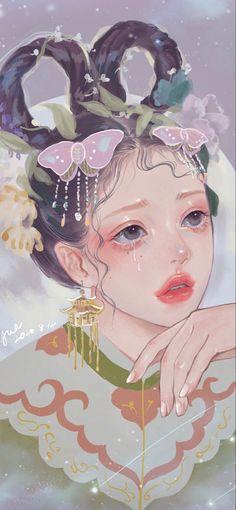 Digital Art Anime, Digital Art Girl, Anime Fantasy, Fantasy Art, Pink Drawing, Hope Art, Princess Drawings, Pretty Art, Anime Art Girl