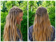 DIY waterfall braid tutorial - HairAndNailsInspiration