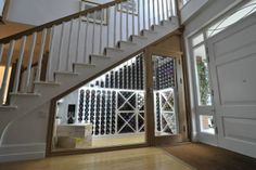 Wine Cellar Staircase | wine cellar under the stairs | houseeee