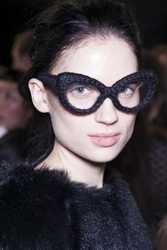braid glasses- Simone Rocha Fall / Winter 2013
