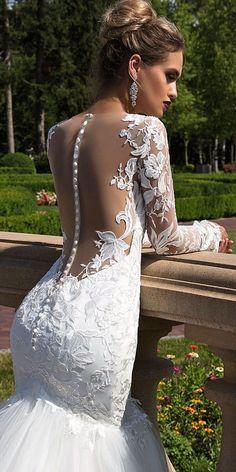 Ida Torez Wedding Dresses 2017 / http://www.deerpearlflowers.com/wedding-dresses-we-love-for-2017/4/ #weddingdress