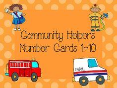 Live, Laugh, I LOVE Kindergarten: Community Helpers Freebie
