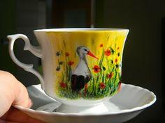 filiżanka - gołębskie łąki