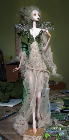 wip - working on costume by Tireless Artist, via Flickr