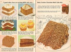 Betty Crocker Chocolate Malt Cake Mix