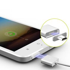 Magnetic Metal Micro USB Data Charger Cable Line 2.4 A Fast Quick Charging For Android Samsung Xiaomi Huawei Meizu HTC Sony