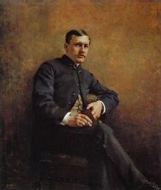 Edelfelt, Albert | Jean-Baptiste Pasteurin Muotokuva (1881)