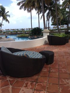 LA TERRAZZA for breakfast, ENCANTO POOL BAR for cocktails by the pool on a canopied comfy bed and YAMATO for the most amazing Sushi in San Juan. Did I mention their amazing beach? El San Juan Resort & Casino San Juan PR