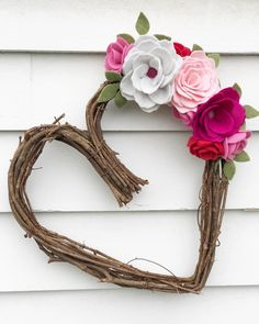 The perfect Valentine's wreath will be available tonight at 6PM PST!