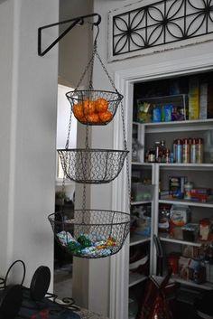 Hanging Basket - wire. WORLD MARKET $12.99                                                                                                                                                                                 More