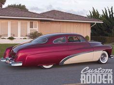 1951 Mercury Coupe Side