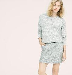 Lou & Grey Spaceslub Mini Skirt | Loft $40