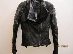 $140 #vintage #grunge #jacket #leather #etsy #90s #rock #style #fashion