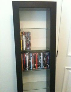 Very nice DVD case or holder contemporary Glass - $75 (Medford, OR)