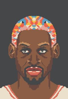Dennis Rodman-- one of my favorite athletes!