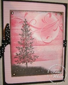 Stampin' Up! Lovely as a Tree different background color tho.