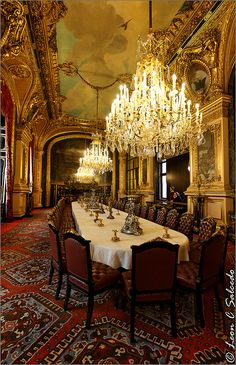 Napoleon III Apartments, Dining Room | Flickr - Photo Sharing!