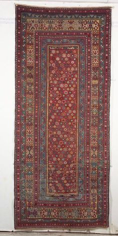 Talish Long Rug, Southeast Caucasus, last quarter 19th century,  9 ft. 2 in. x 4 ft.     Skinner Auctioneers Sale 2347