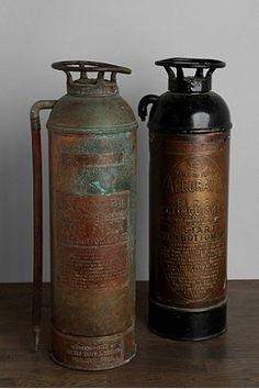 {Dead link} Vintage Fire Extinguisher
