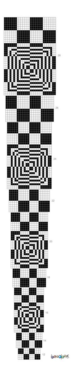 beadpet | http://beadpet.com/images/crochet_ropes_schemes/with_increase ...