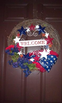 kohls fourth of july wreath