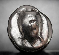 Islands off Attica, Aegina. References : Meadows, Aegina, Group IIIa; HGC 6, 435. Silver AR Stater. Circa 480-457 BC. Sea turtle, head in profile, with 'T-back' design on shell. General Information.   eBay!