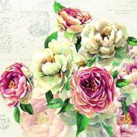 Napkins / other flowers - Wimmel Napkins