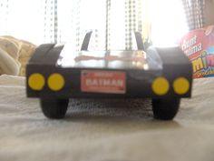 N's Batmobile racer for 2007 Pinewood Derby